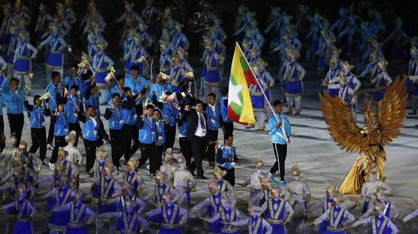 Indonesia president Widodo opens 18th Asian Games