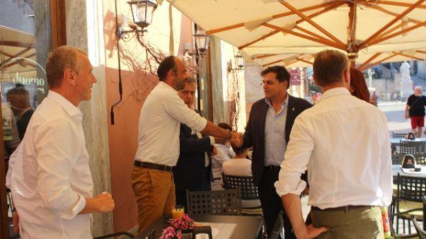 Primo ministro francese a Pietrasanta