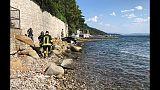 Barca in velocità senza pilota a Trieste