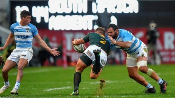 Rugby Championship: des Sud-Africains offensifs confirment leur regain de forme face à l'Argentine