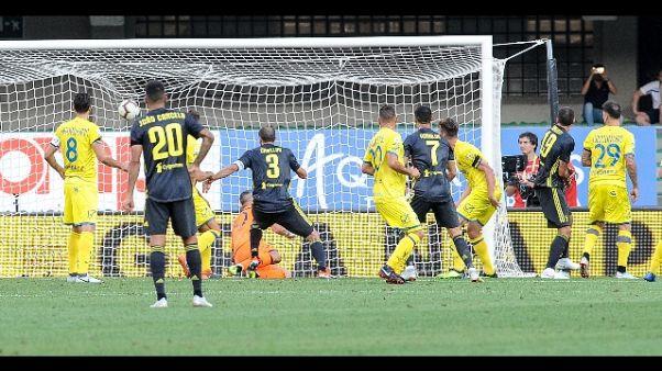 Serie A: Chievo-Juventus 2-3