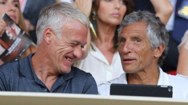 Ligue 1: Didier Deschamps assiste en tribunes à Monaco-Lille