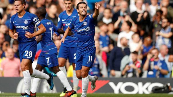 Soccer-Chelsea beat Arsenal 3-2 in London derby thriller