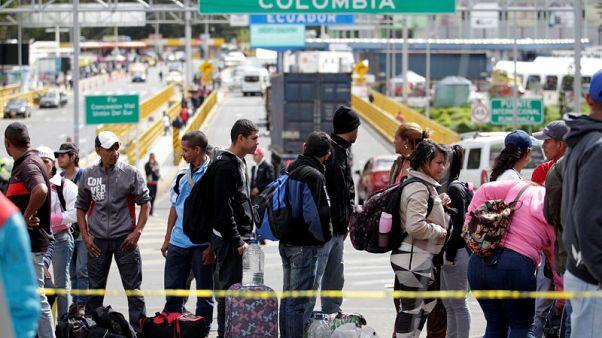 Venezuelan migrants' dreams of new life dashed by Ecuador passport rule