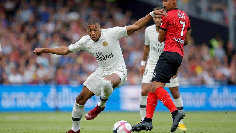 Mbappe brace secures comeback win for PSG at Guingamp | Euronews