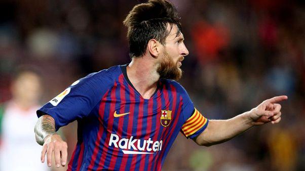 ركلة حرة رائعة من ميسي تمنح برشلونة بداية مظفرة أمام الافيس