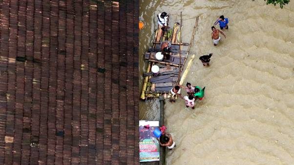 Focus shifts to rescues as rain abates in India's flood-hit Kerala