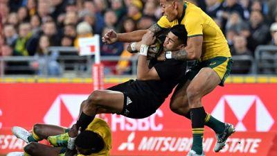 Rugby Championship: la deuxième rencontre Australie/Nouvelle-Zelande se fera sans Folau et Crotty