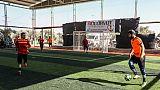 Quand les déplacés syriens surmontent l'amertume de l'exode par le football