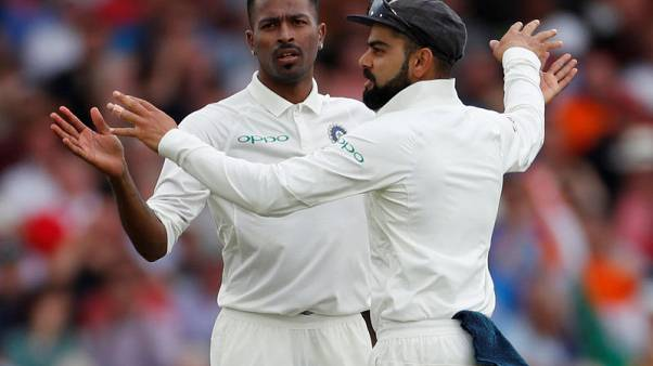 Pandya takes five wickets as England lose 10 in session