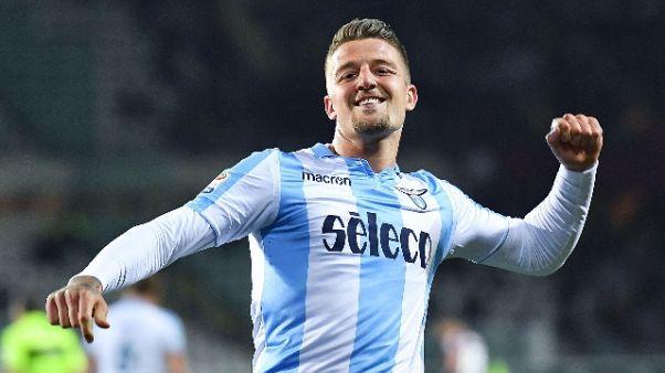 Lazio, no a 95 mln Real per Milinkovic