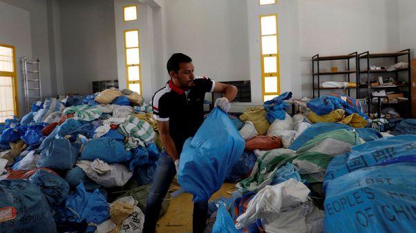بريد فلسطيني يصل الضفة الغربية المحتلة متأخرا ثماني سنوات