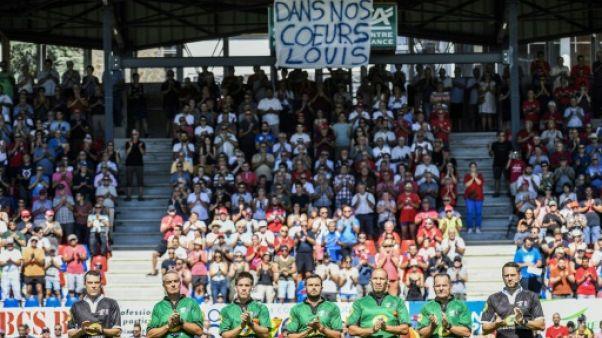 Pro D2: Aurillac rend hommage à son jeune rugbyman décédé Louis Fajfrowski