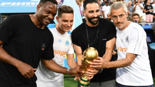 Ligue 1: Marseille avec ses trois champions du monde Mandanda, Rami et Thauvin