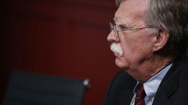 محادثات بين نتنياهو وبولتون في القدس تركز على برنامج إيران النووي