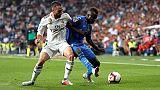 Calcio: Real Madrid piega il Getafe 2-0