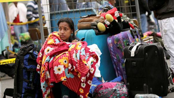 Desperate Venezuelans defy Ecuador's passport rules and cross border