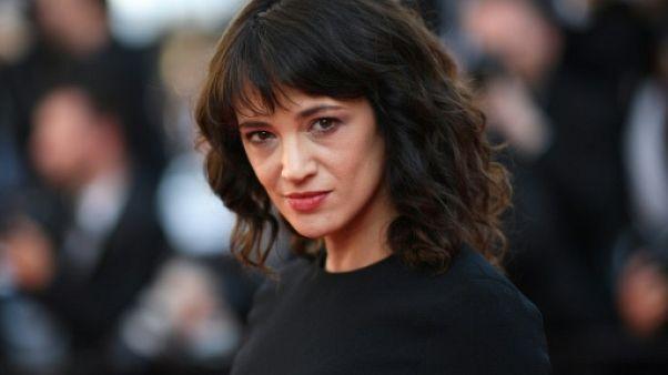 L'actrice italienne Asia Argento lors du Festival de Cannes, le 19 mai 2018