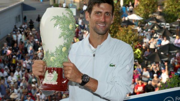 Novak Djokovic en fin titré à Cincinnati, le 19 août 2018