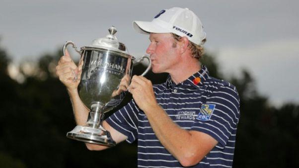 Golf: Snedeker vainqueur du Wyndham Championship