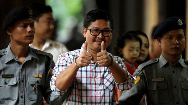 Reuters journalists face verdict next week on Myanmar secrets charges