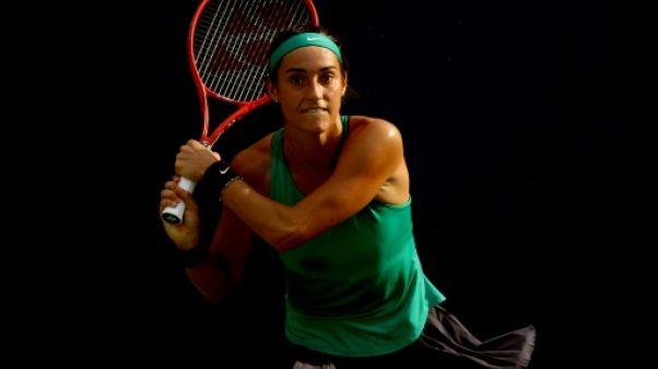 Caroline Garcia au 2e tour du tournoi de Cincinnati, le 14 août 2018