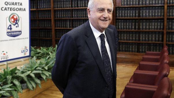Volantino laziali, condanna Fabbricini
