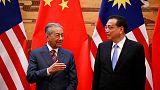 مهاتير: الصين ستتفهم مشكلات ماليزيا