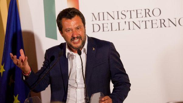 Salvini,votai ok Aspi, non si è vigilato