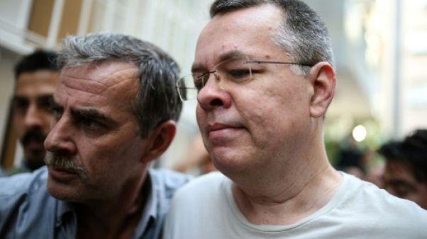 Washington a rejeté une offre d'Ankara pour libérer le pasteur Brunson