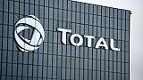 Le siège de l'entreprise Total à La Défense à Paris, le 23 janvier 2018