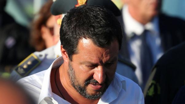 Italy's Salvini says government will stand up against market attacks