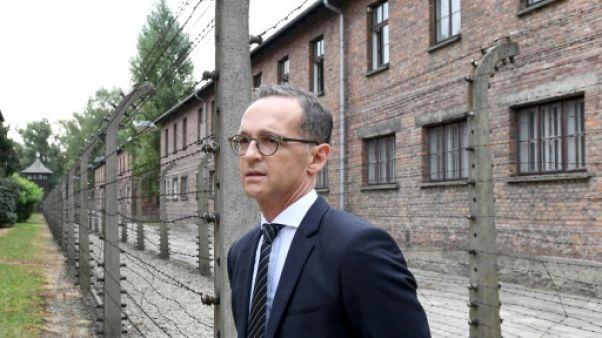 "Auschwitz: la responsabilité allemande ""ne finira jamais"""
