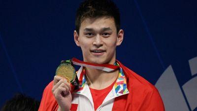 Jeux Asiatiques: le nageur chinois Sun Yang réalise le doublé 200-800 m