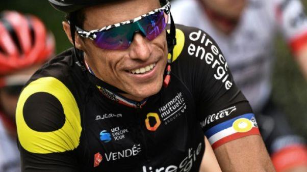 Sylvain Chavanel lors de la 18e étape du Tour de France le 29 juillet 2018