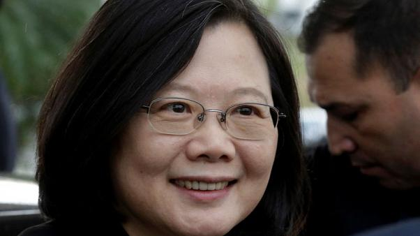 Taiwan 'won't bow to pressure', president says amid China tensions