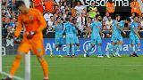 بلنسية يتعادل مع اتليتيكو في مباراة مثيرة في دوري إسبانيا