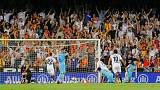 Valencia hold Atletico in thrilling Liga draw