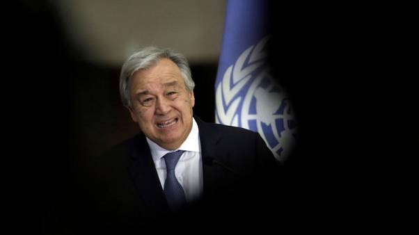 U.N. chief looks forward to North, South Korea talks in New York - spokesman