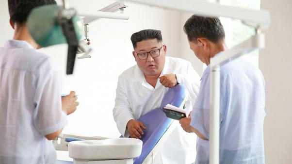 North Korea's Kim criticises his country's health sector