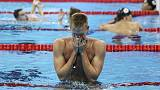 Kazakh Olympic swimming champion skips pet event after injury