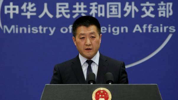 China says it hopes for good outcome on trade talks with U.S.