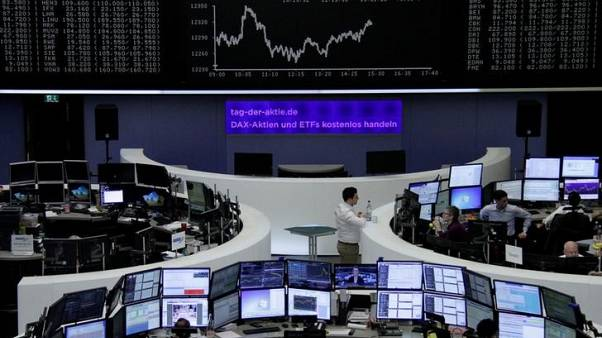 European shares steady ahead of U.S.-China trade talks
