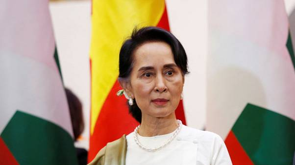 Myanmar leader Suu Kyi says terrorism in Rakhine state a threat to region