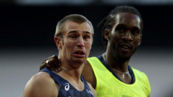 """Athlétisme handisport: le """"Guépard blanc"""" et ses """"ombres"""""""
