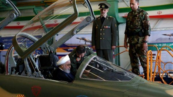 L'Iran dévoile son premier avion de combat, en pleine tension avec Washington