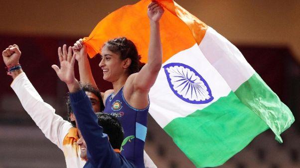 Asian Games: primo oro India nella lotta