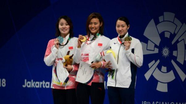 Jeux asiatiques: record du monde pour la Chinoise Liu au 50 m