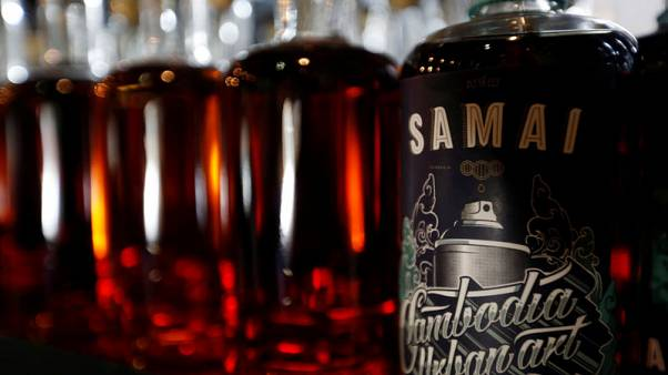 Cambodia's first rum maker looks to expand overseas market