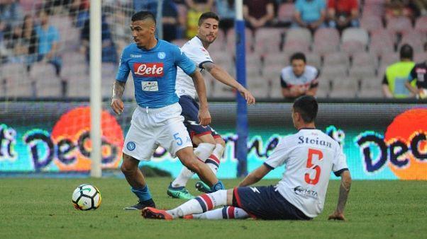 Allan, il Napoli lotterà con la Juve